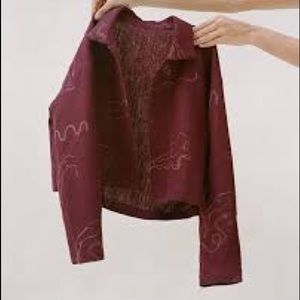 Anubis Paloma Wool Linen Jacket RARE